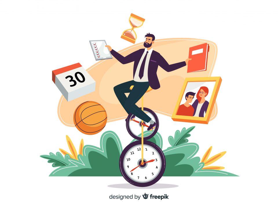 Zeitmanagement Stressmanagement